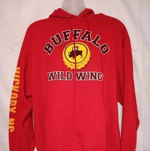 RARE Buffalo Wild Wings HICKORY,NC Size XL